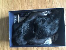 NEW Oscar De La Renta 2013 Fur boot size 36