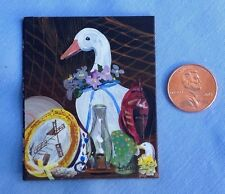 Miniature Painting, Country collection, still life, Art for your dollhouse walls