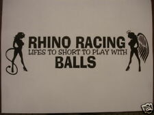 Rhino Racing trailer cargo trailer Yamaha UTV sticker