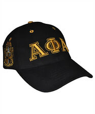 Alpha Phi Alpha Fraternity Three Greek Letter Baseball Hat- New!