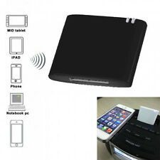 Wireless Bluetooth 2.0 APTX Stereo Music Audio Receiver 30Pin Docking Speaker US