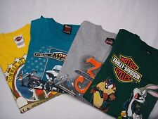 Lot of 4 Mens Harley Davidson T-Shirts Tee HD Medium Vintage