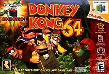 ***DONKEY KONG 64 N64 NINTENDO 64 GAME COSMETIC WEAR~~~