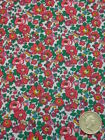 LIBERTY PRINTS POPLIN FABRIC BETSY ANNE 3.2 METRES L8309
