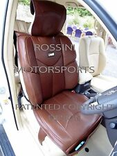 TO FIT A BMW 1 SERIES CAR, SEAT COVERS, YMDX 02 ROSSINI SPORTS BROWN
