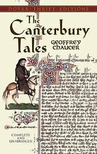 The Canterbury Tales Dover Thrift Editions