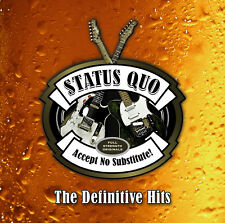 Status Quo Accept No Substitute!: The Definitive Hits CD NEW