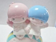 Vintage Sanrio Little Twin Stars Musical Figurine 1984
