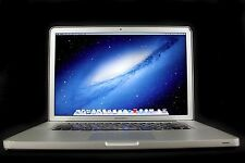 "Apple 15.4"" MacBook Pro A1286 Intel Core i7 3615QM 2.30 GHz 8GB RAM 750GB HDD"