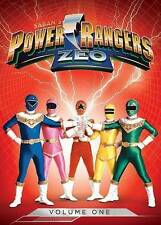 POWER RANGERS ZEO VOL ONE (DVD) BRAND NEW BARCODE CUT ON BACK