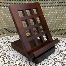 Portable Wooden Folding Rest Stand Rack Holder Ipad Tablet Smartphone Made in JP
