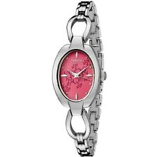 NIB INVICTA Wildflower Collection Fuchsia Dial Ladies Watch SRP $395