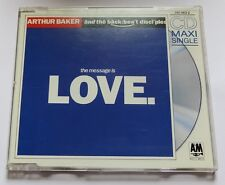 ARTHUR BAKER & THE BACKBEAT DICIPLES - THE MESSAGE IS LOVE - Maxi CD 4 tracks