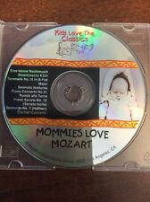 Kids Love The Classics Mommies Love Mozart (CD, 2000, Marshmallow Media Group)