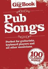 Gig book pub canciones Guitarra Piano cuerda vocal Libro De Partituras Aprender 100 Hits Nuevo