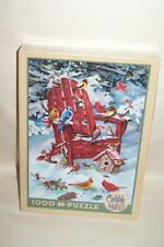 Cobble Hill Jigsaw Puzzle Adirondack Birds Winter Scene 1000 Pieces Sealed