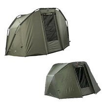 JRC NEW Carp Fishing Contact 2 Man Bivvy + Overwrap Winter Wrap - 1294344