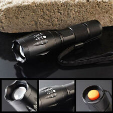 Tactical G700 X800 Zoomable 6000LM XML T6 LED Flashlight 18650/AAA Lamp Torch