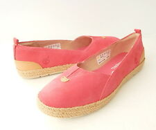 NWB Timberland Women's Earthkeepers® Casco Slip-On Shoes Size 8.5 Hot Pink Suede
