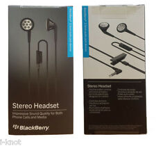 Blackberry Genuine Stereo Headphone Handfree HDW-24529-001 For Z10,Q5,9360,9320