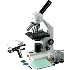 40X-2000X Veterinary Compound Microscope with Mechanical Stage