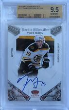 (HCW) 2010-11 Crown Royale TYLER SEGUIN Jersey Auto RC BGS 9.5 21/99 Silhouettes