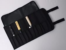 "11-Pocket 17"" Portable Knife Carry Case Small Pouch Bag Folded Craft Knives Tool"