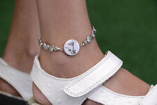 Golf Ball Marker Ankle Bracelet in your favorite color by One Putt Designs