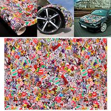 """Graffiti JDM Bomb Car Auto Wrap 20""""x30"""" Decal Waterproof Vinyl Sticker"""