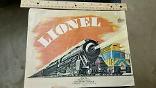 VINTAGE 1969 LIONEL TRAINS CATALOG ORIGINAL FROM WORLD'S FAMOUS TREASURE HOUSE