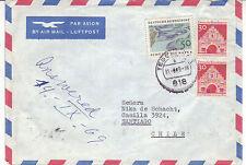 BRD Luftpost Ausland Brief : Tegernsee   Chile vom 31.08.1969