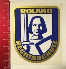 Pegatina/sticker: roland protección jurídica (250316154)