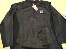 NEW-UNOPENED; New York Rangers Pullover Covert Black Jacket; NHL.Com; Size XL