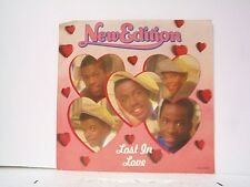 """NEW EDITION """"LOST IN LOVE / GOLD MINE"""" 45w/PS  MINT"""