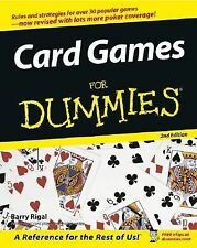 Card Games for Dummies by Barry Rigal (2005, Paperback, Revised)