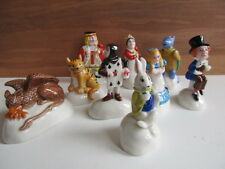 RARE  SET OF WADE ALICE IN WONDERLAND 9 ITEMS ALL CHARACTERS PERFECTBOXED