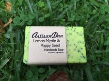 Soap - Hand Made (Lemon Myrtle & Poppy Seed) ����