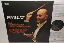 SXL 6709 Liszt Tasso Mephisto Waltz From The Cradle To The Grave Sir Georg Solti