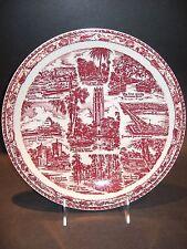 Vintage Vernon Kilns California Art Pottery Florida Souvenir Collector Plate