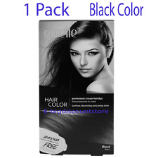 Black Hair Color for Women Epielle Permanent Hair Dye Ammonia-Free (1 Pack) NEW!
