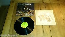JETHRO TULL songs from the wood UK LP chrysalis CHR 1132 A/B 1ST PRESS 1977