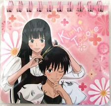 Kimi ni Todoke Mini Spiral Paper Note Pink Red Anime NEW