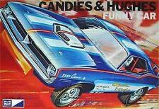 1970s MPC Candies & Hughes funny car model box magnet - new!
