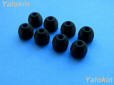 8 pcs Medium Comfort Stay (BK) Replacement Eartips for Jaybird X2 Headphones