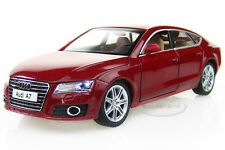 1:24 AUDI A7 Alloy Diecast car Model Collection Toy Vehicle Sound&Light Red 2282