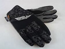 New FLY SWITCH SNOW GLOVE BLACK/GRAY BMX SNOWMOBILE THINSULATE Size 7 (ADULT XS)