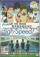 FREE ! THE MOVIE : HIGH SPEED ! STARTING DAYS - COMPLETE DVD BOX SET (ENG SUB)
