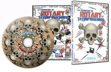 ROTARY TATTOO MACHINE INTRODUCTION DVD 3.5+ Hours Training Guide Lesson Supply