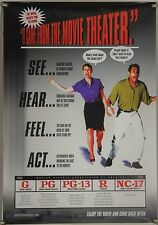 MPAA RATINGS POSTER THEATER CINEMA LOBBY PROMO POSTER (2000)