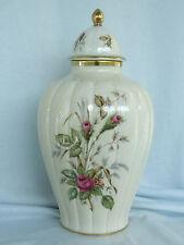 Sehr schöne Deckel Vase floral Thomas R Porzellan,Topzustand RAR